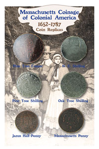 Massachusetts Coin Set 1652-1787