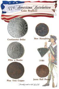 American Revolutuion coin set