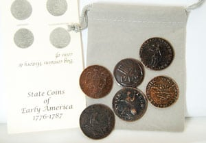 State Coins of Early America Educational Set