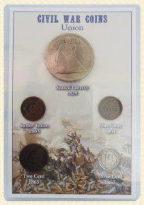 Civil War Union coin set