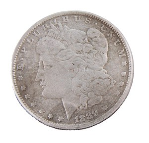 Morgan Dollar 1889