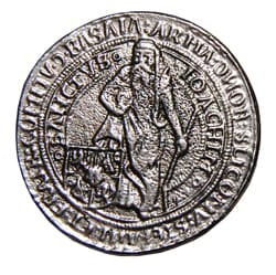 Joachimsthaler 1519 dutch coin replica- Coins of Our Past Historic ...