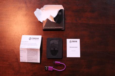 Bitcoin trezor hardware wallet test (6)