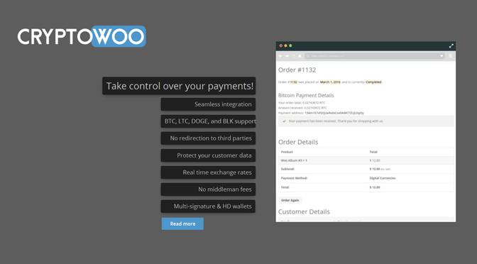 CryptoWoo – Sicher mit Bitcoins bezahlen lassen