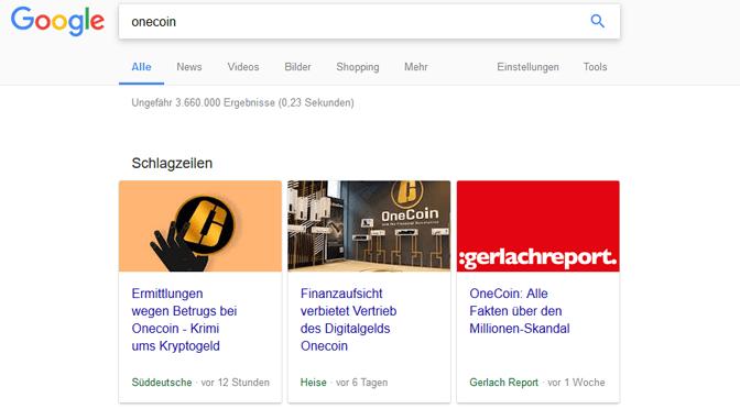 Süddeutsche, Heise & Co. berichten über Onecoin