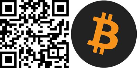 Bitcoin-QR-Code mit Bild
