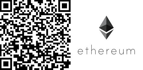 The Coinspondent Ethereum-QR-Code mit Bild