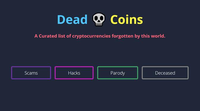 Von Hypershitcoinisation und Deadcoins