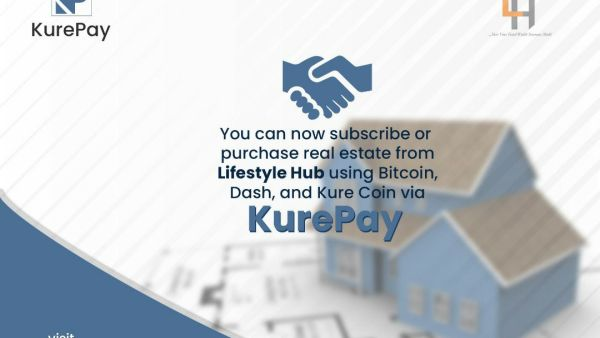Kurepay Partners With LifeStyle Hub to Give Users the Advantage of Purchasing Real Estate Using Cryptocurrencies
