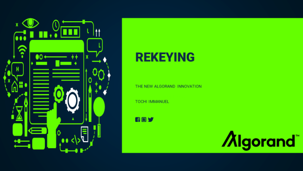 Algorand Rekeying – The New Innovation
