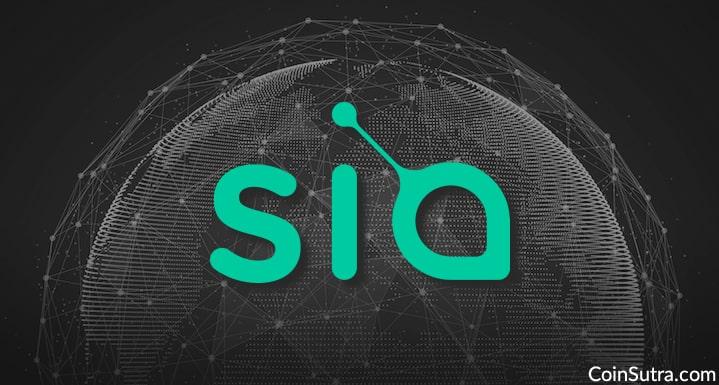 Sia Decentralized Storage Network