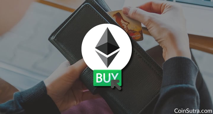 Instantly Buy Ethereum With A Credit-Debit Card