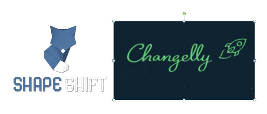 ShapeShift or Changelly Exchange