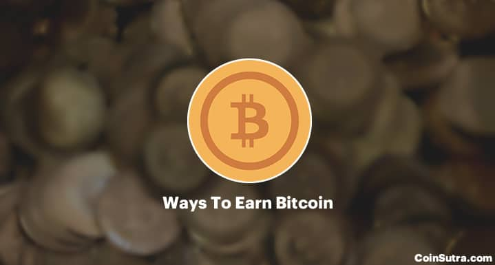 Popular Ways To Earn Bitcoin