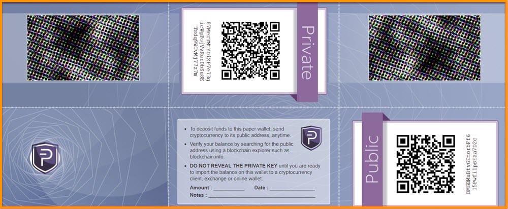 WalletGenerator (Paper Wallet)