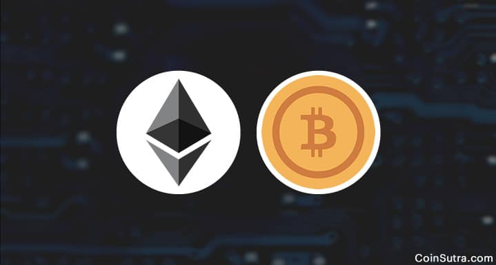 Difference in Ethereum Blockchain and Bitcoin's Blockchain