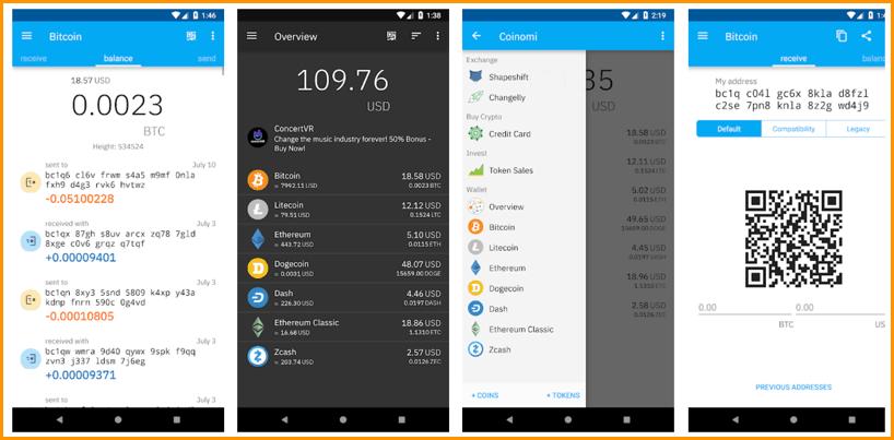 5 kripto piniginių tipai, Patikima piniginė skirta bitcoin android