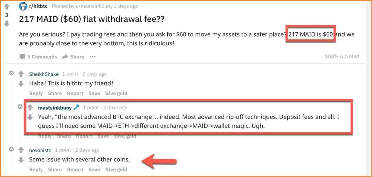 HitBTC-high-Withdrawal-fees