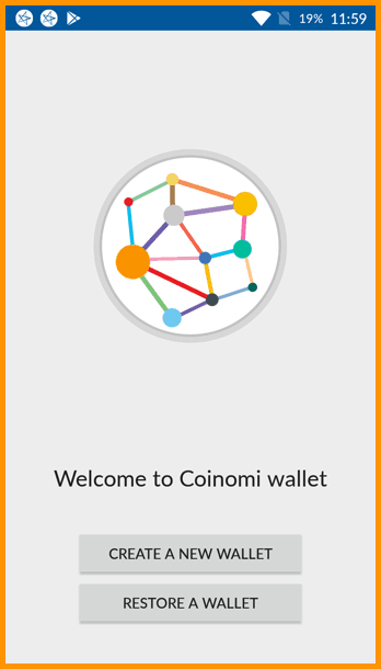 New wallet with Conomi