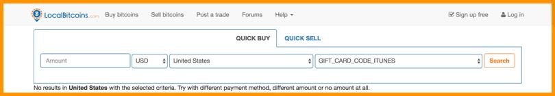 Buy BTC From LocalBitcoins