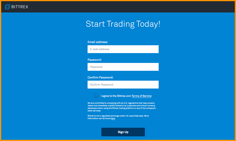 Getting Started With Bittrex