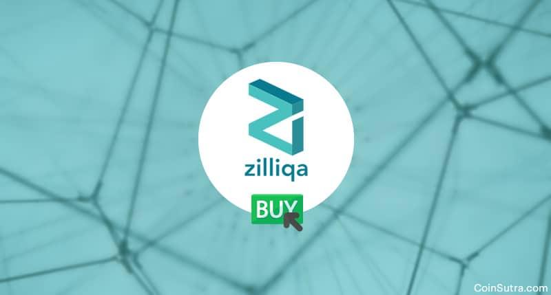Buy Zilliqa-ZIL