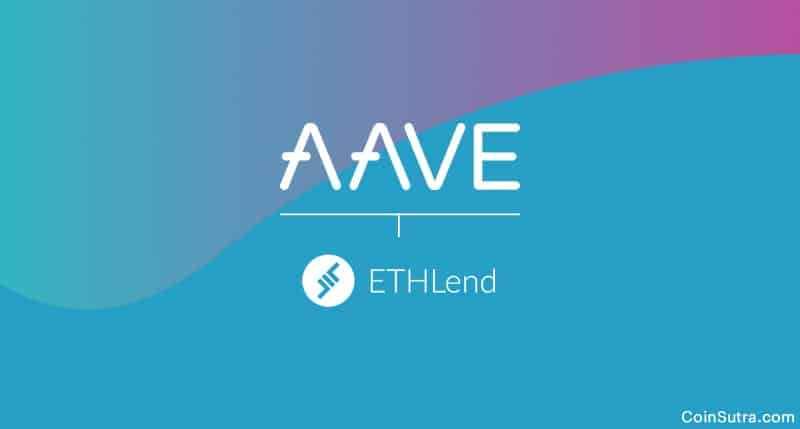 ETHLend Parent Company - Aave