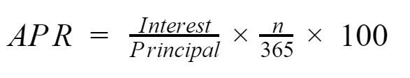 APR-Formula