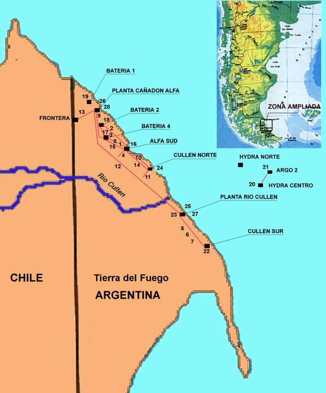 TOTAL AUSTRAL – Trabajos en la Cuenca Austral – Tierra del Fuego