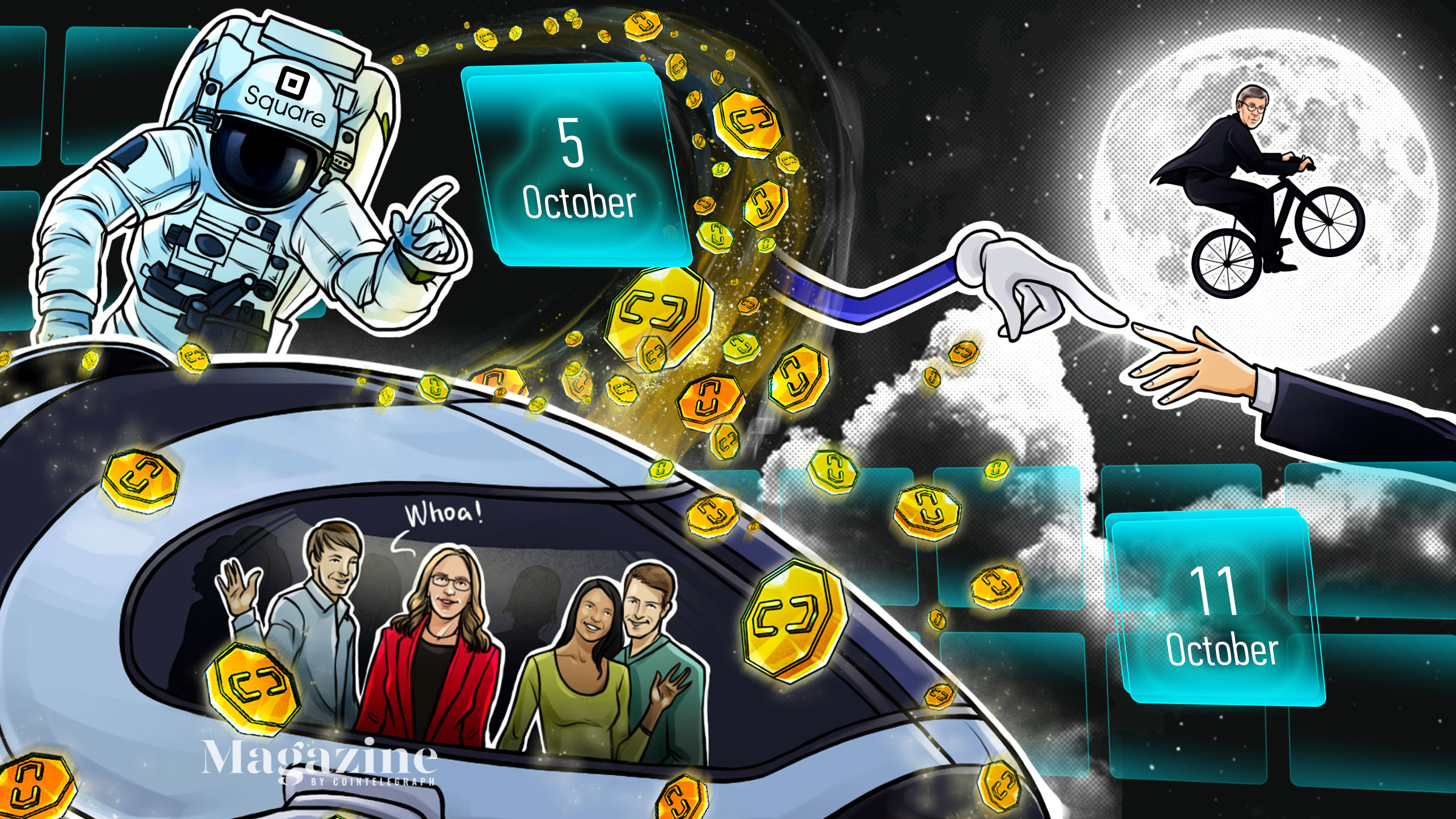 Bitcoin rallies, McAfee compares prison to Hilton, digital yuan airdrop: Hodler's Digest, Oct. 5–11