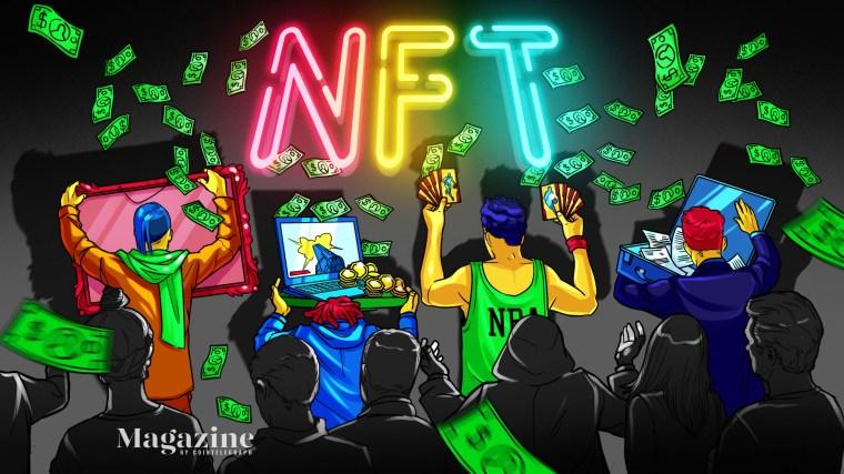 magazine NFT
