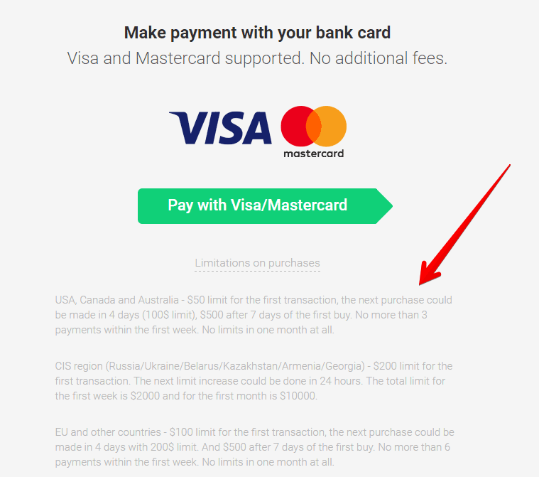 ... buy btc with credit card anonymously
