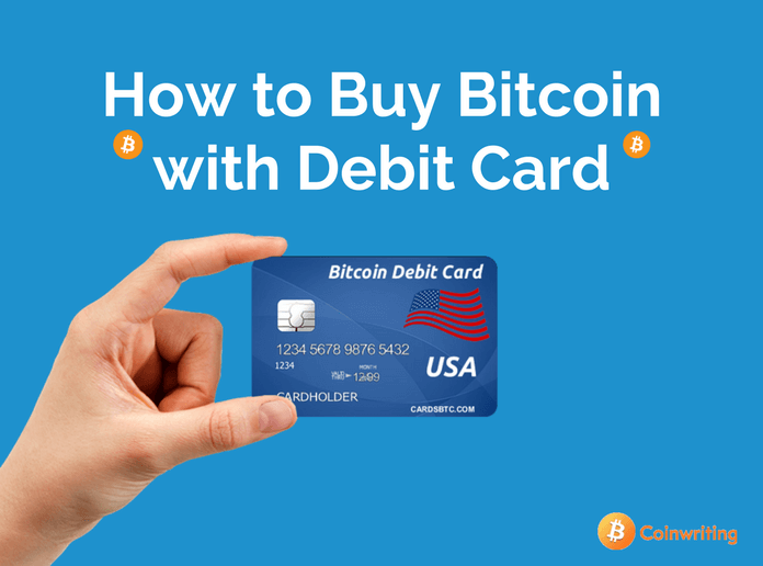 How to buy bitcoin using a debit card