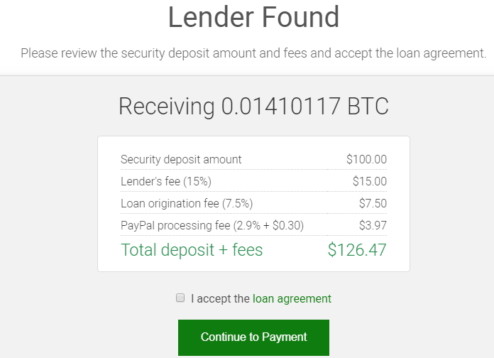 lender found page