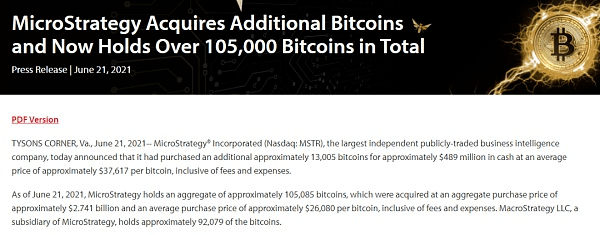 Cryptocurrency Crashes How Much Did MicroStrategy, Firmly Long on Bitcoin, Really Lose?