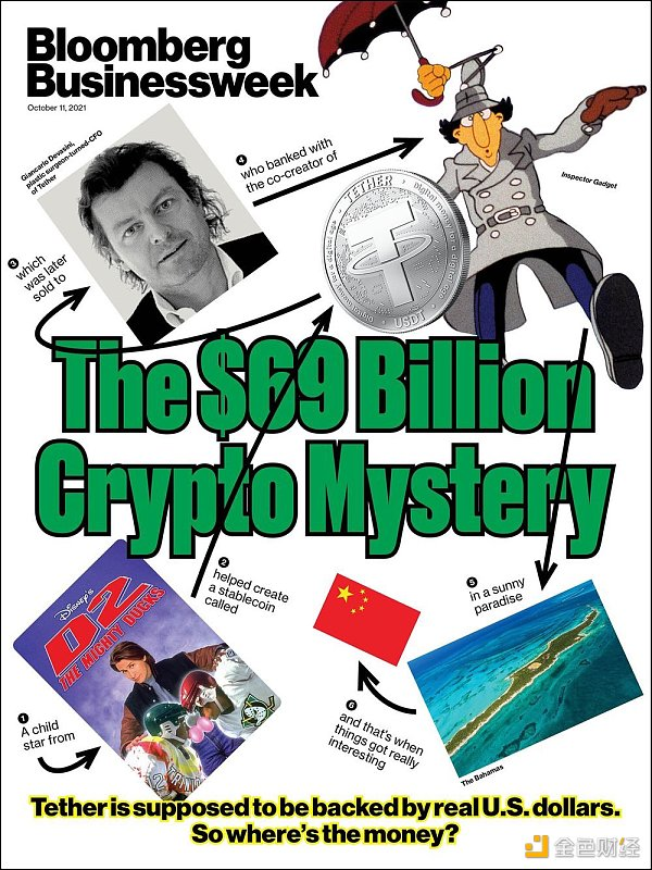 The mystery of Tether's 69 billion U.S. dollar reserves: executives who invest in China's commercial paper face criminal investigations