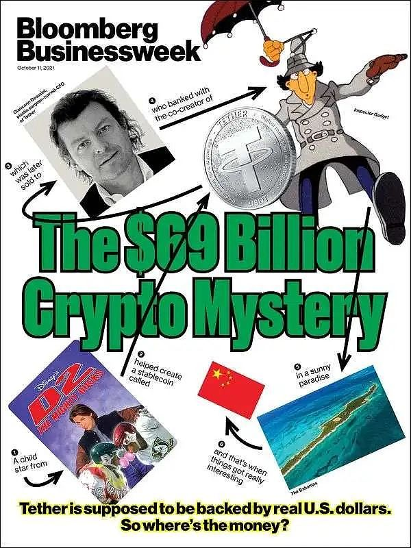 The mystery of Tether's  billion reserve fund