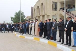 وقفة تأبينية تنظمها كلية العلوم الاسلامية على ضحايا العبارة