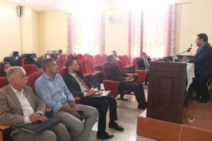 شعبة التعليم المستمر في كلية العلوم الاسلامية تناقش موضوع الابتزاز الالكتروني