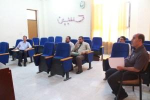 المتقدمين لغرض التعاقد مع كلية العلوم الاسلامية في التدريس في الدراسة المسائية