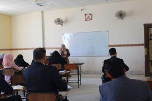 شعبة التعليم المستمر تنظم دورة عن سلامة اللغة العربية