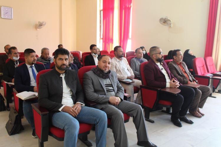 كلية العلوم الاسلامية تنظم ندوة علمية بذكرى شهادة السيدة الزهراء (ع)