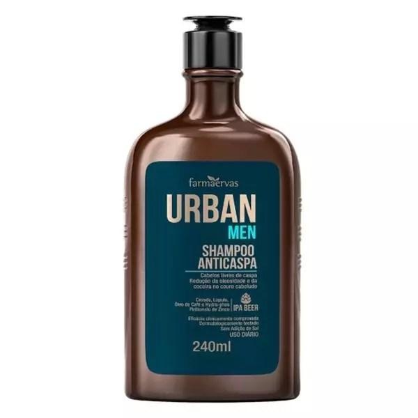 Shampoo Anticaspa Farmaervas URBAN MEN 240ML
