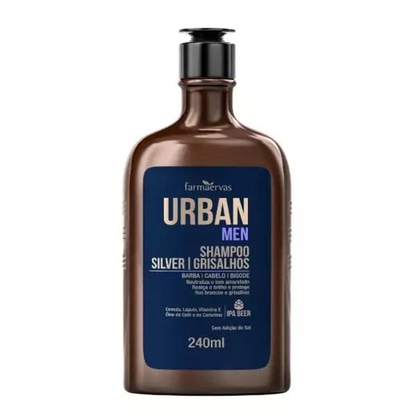 Shampoo Grisalhos Farmaervas URBAN MEN 240ML
