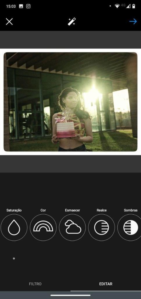tela do Instagram