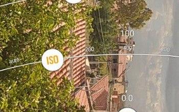 Ajuste manual do ISO no celular