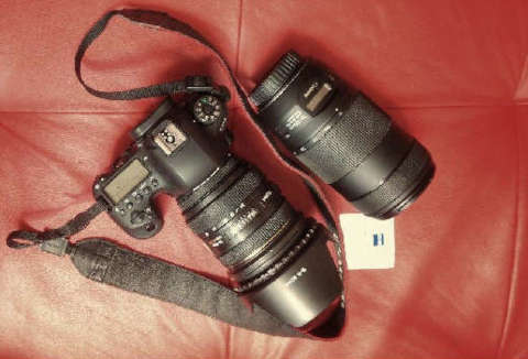 Camera Canon EOS 6D Mark II and Sigma 24-70mm IF EX DG HSM