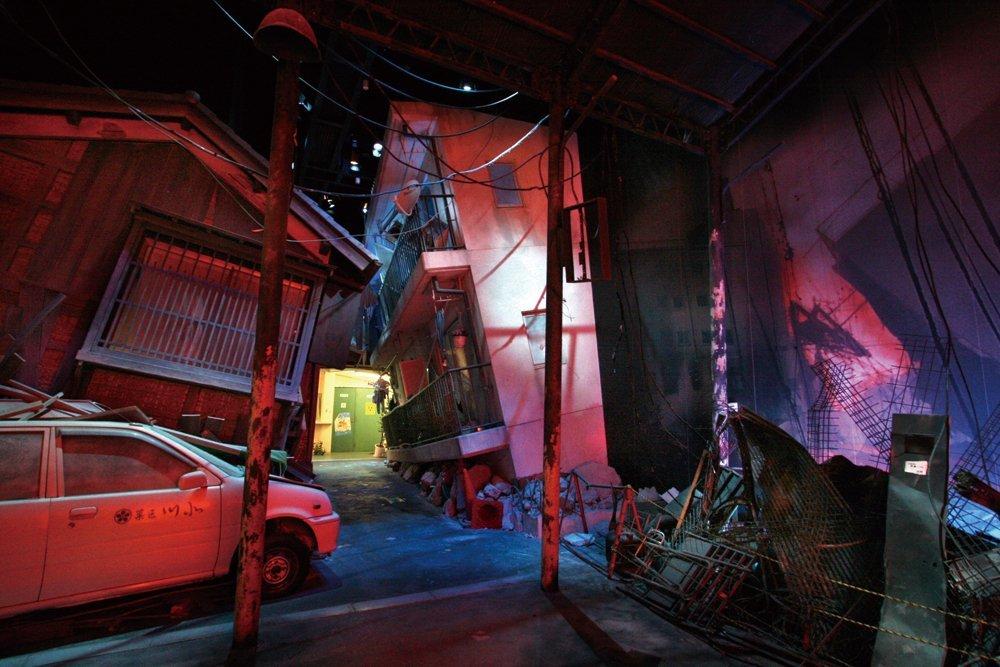 terremoto Japão simulado