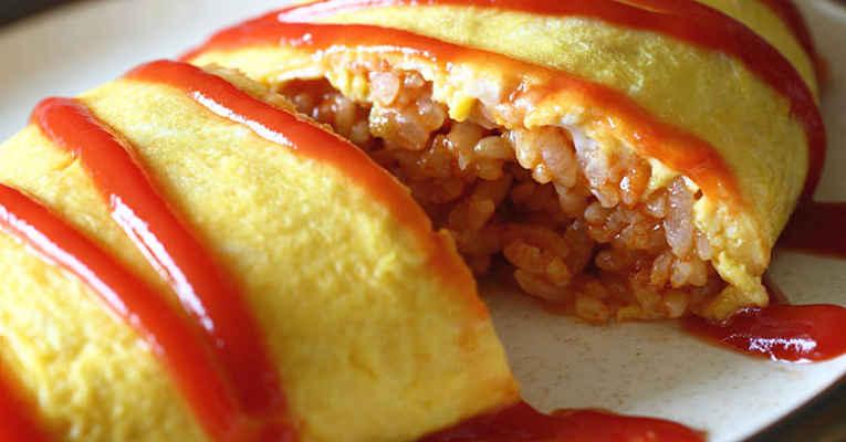 Receita de omelete japonês