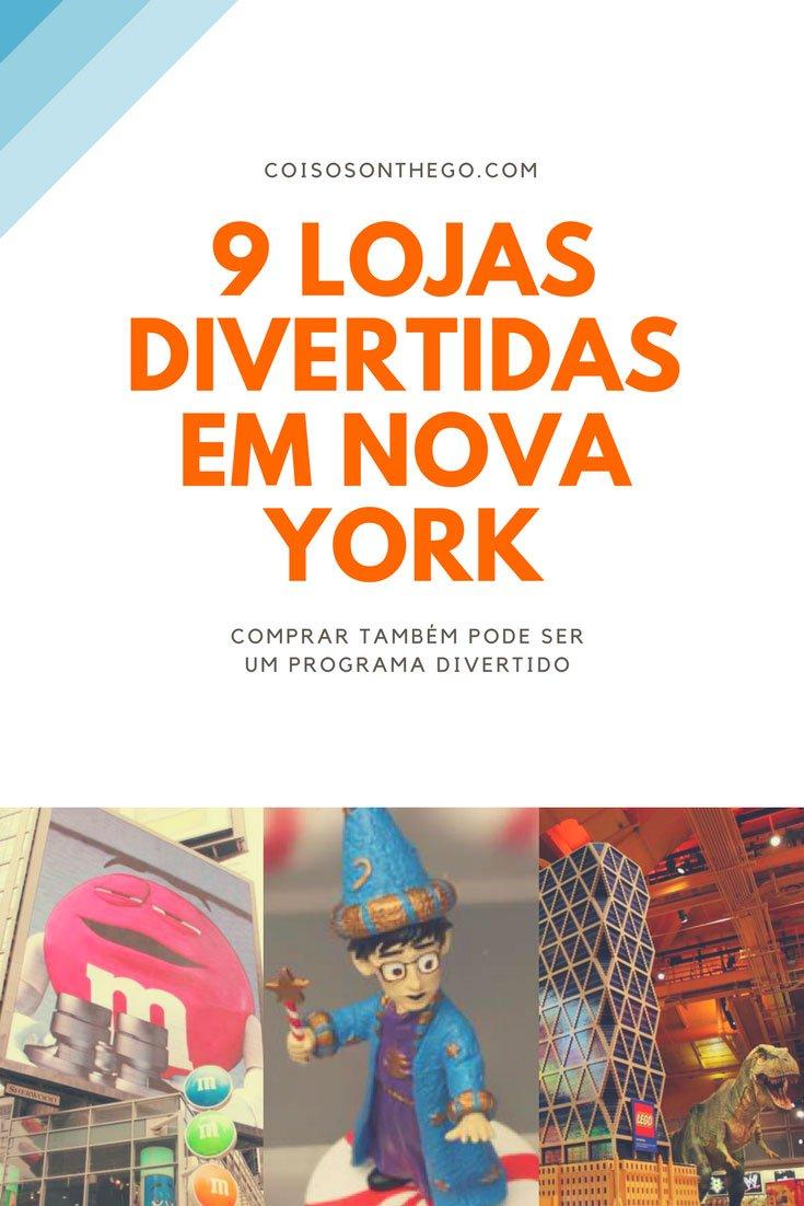 Lojas divertidas em Nova York